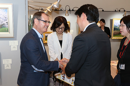JORDI ISERN INAGURATION EXHIBITION - JAPAN